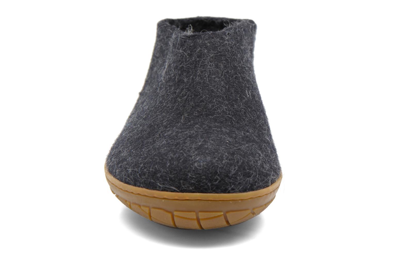 Slippers Glerups Porter Gomme M Black model view