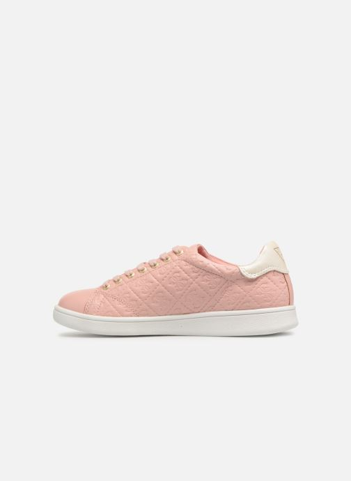 Trainers Guess Super Pink front view