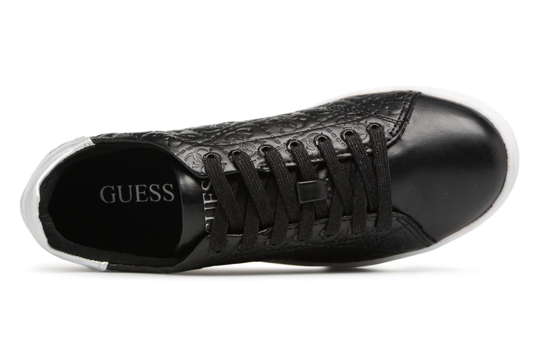Baskets Guess Super Noir vue gauche