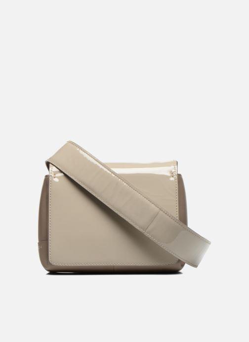 Handbags Carven MERCER Porté travers Beige front view