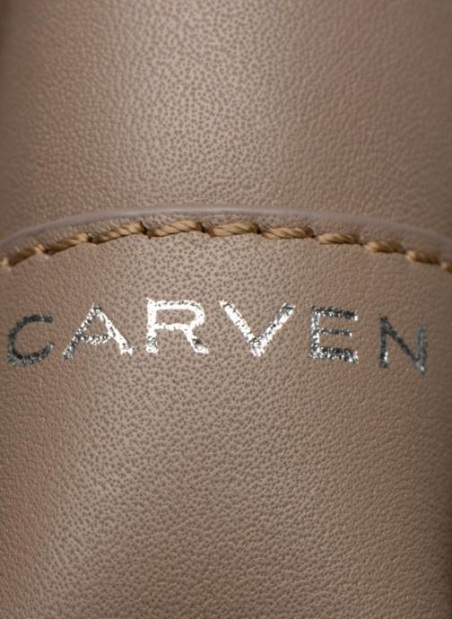 Handtassen Carven MERCER Porté travers Beige links