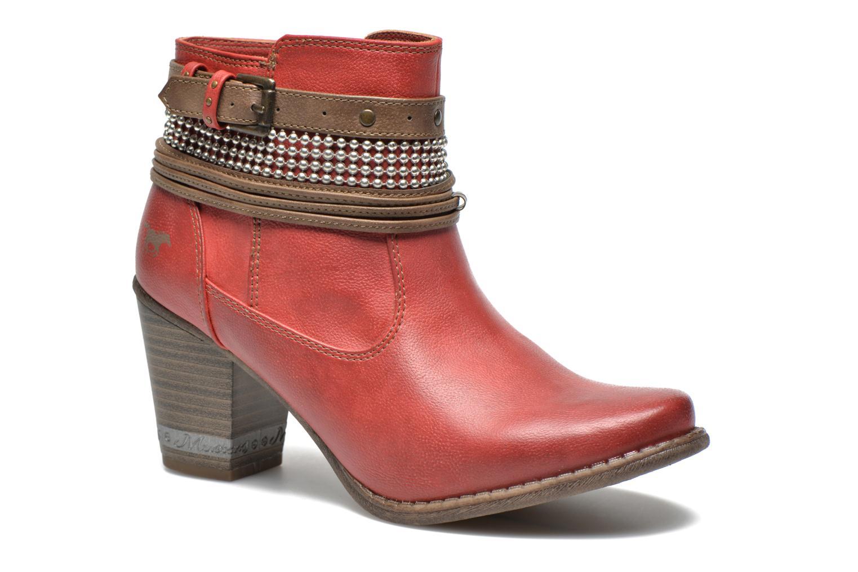 237453 Bottines Sarenza Mata Et Mustang Chez Shoes rouge Boots pAnZOZ