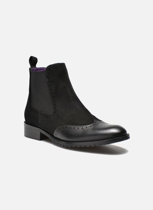 Ankle boots Anaki Tierra Black detailed view/ Pair view