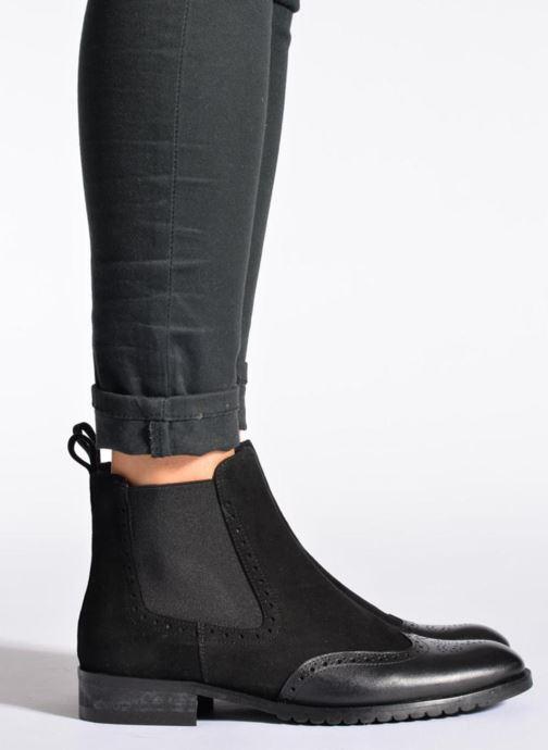Bottines et boots Anaki Tierra Marron vue bas / vue portée sac