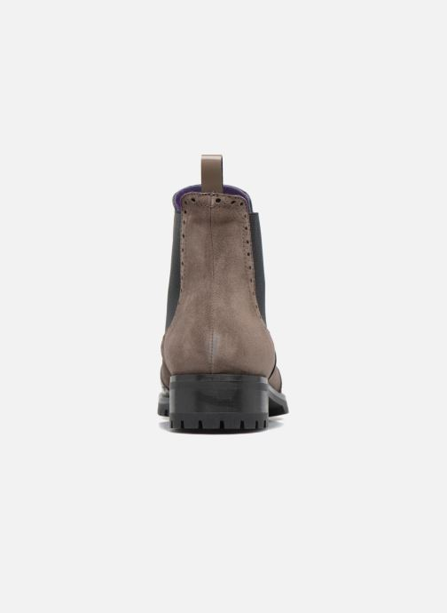 Ankle boots Anaki Tierra Brown view from the right