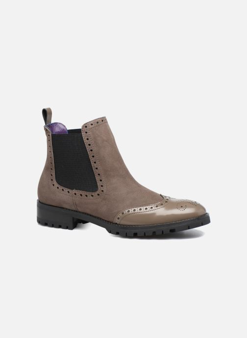 Ankle boots Anaki Tierra Brown detailed view/ Pair view