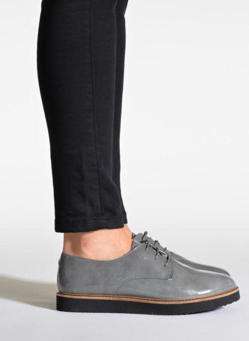 Chaussures à lacets Ippon Vintage James gloss Beige vue bas / vue portée sac