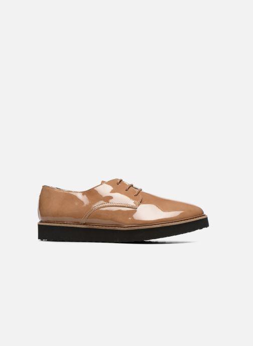 Chaussures à lacets Ippon Vintage James gloss Beige vue derrière