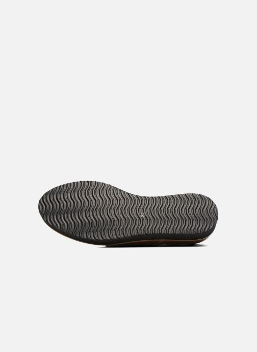 Chaussures à lacets Ippon Vintage James gloss Beige vue haut