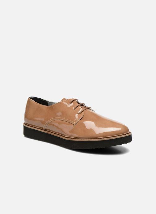 Zapatos con cordones Ippon Vintage James gloss Beige vista de detalle / par