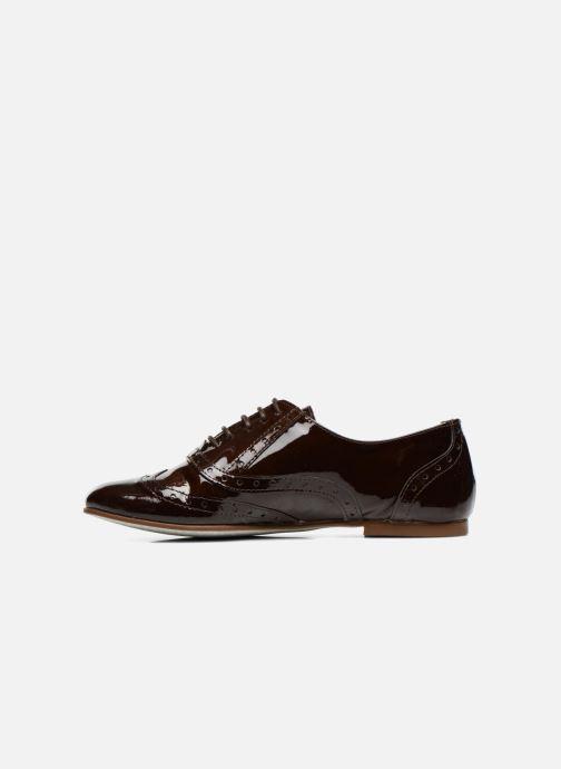 Zapatos con cordones Ippon Vintage Woody lux Marrón vista de frente