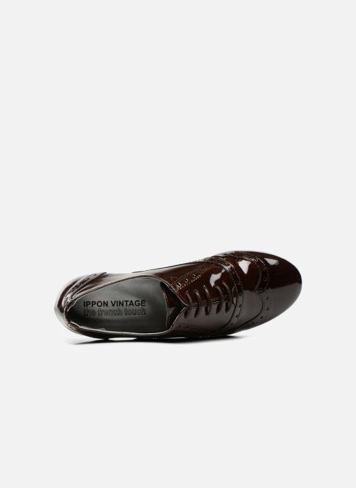 Schnürschuhe Ippon Vintage Woody lux braun ansicht von links