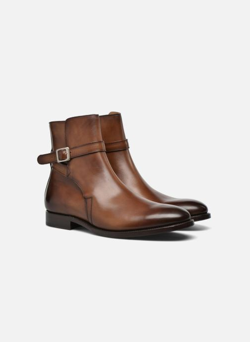 Bottines et boots Marvin&Co Luxe Wetrok - Cousu Goodyear Marron vue 3/4