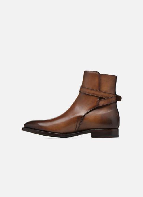 Boots en enkellaarsjes Marvin&Co Luxe Wetrok - Cousu Goodyear Bruin voorkant