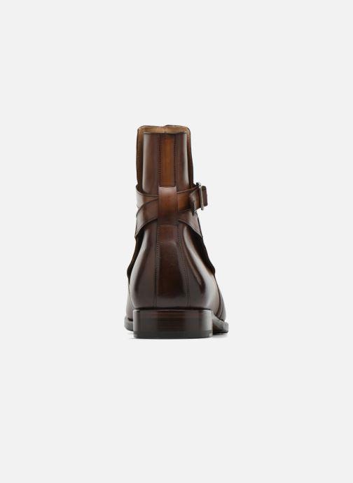 Boots en enkellaarsjes Marvin&Co Luxe Wetrok - Cousu Goodyear Bruin rechts