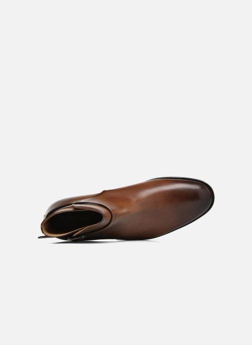 Boots en enkellaarsjes Marvin&Co Luxe Wetrok - Cousu Goodyear Bruin links
