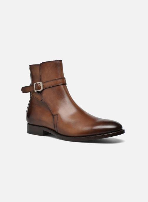 Bottines et boots Marvin&Co Luxe Wetrok - Cousu Goodyear Marron vue détail/paire