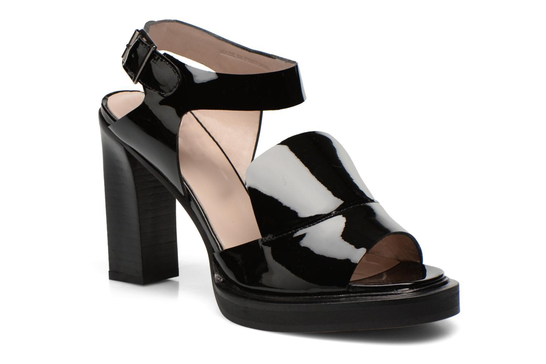 Sandales et nu-pieds Carven Dwina Noir vue détail/paire