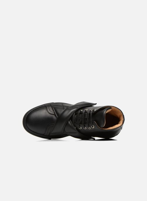 Trainers Carven Sketcha Black view from the left