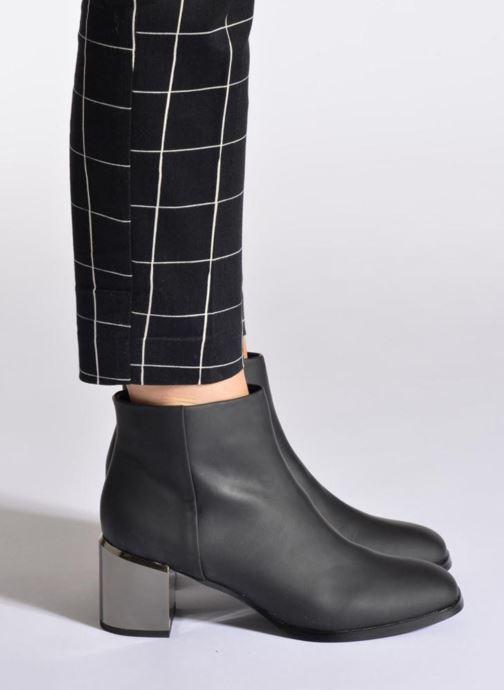 Bottines et boots SENSO Vincent II Noir vue bas / vue portée sac