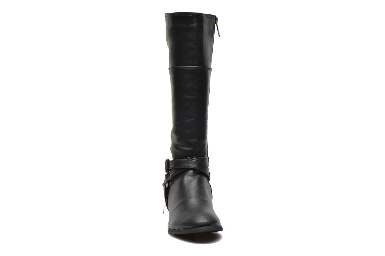Bottes Refresh Volo-61129 Noir vue portées chaussures