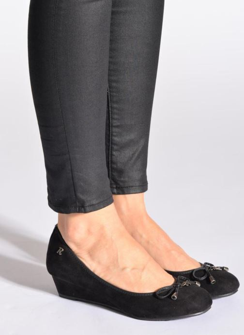 High heels Refresh Ubel-61159 Black view from underneath / model view