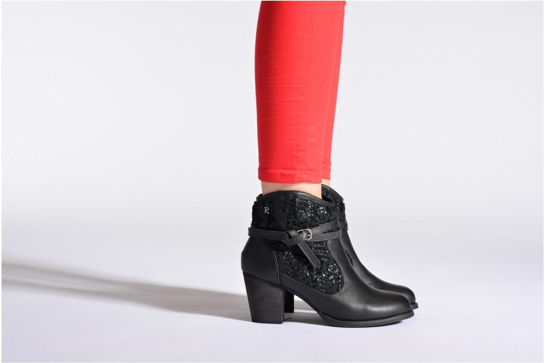 Bottines et boots Refresh Jenna-61198 Noir vue bas / vue portée sac