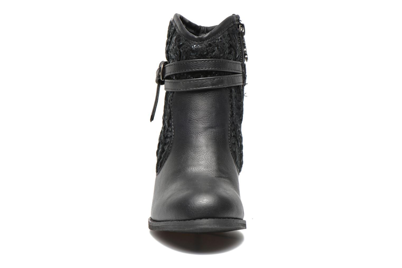 Bottines et boots Refresh Jenna-61198 Noir vue portées chaussures