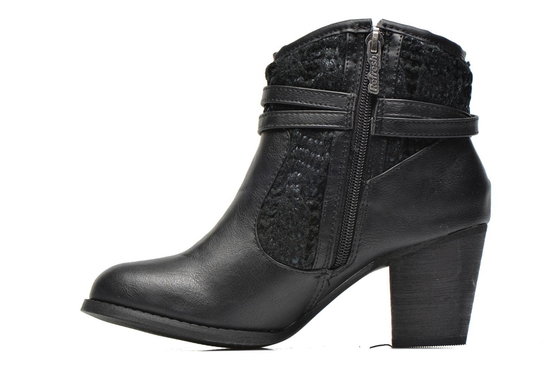 Bottines et boots Refresh Jenna-61198 Noir vue face