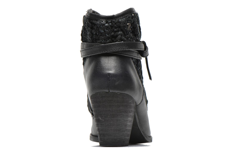 Bottines et boots Refresh Jenna-61198 Noir vue droite