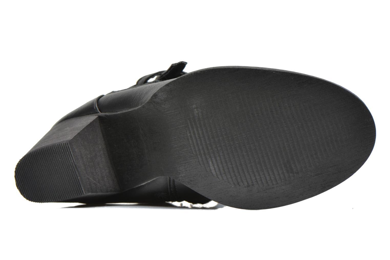 Bottines et boots Refresh Jenna-61198 Noir vue haut