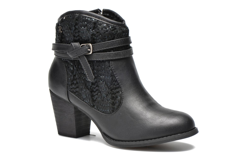 Bottines et boots Refresh Jenna-61198 Noir vue détail/paire