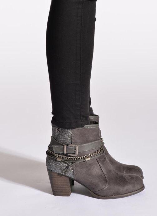 Bottines et boots Refresh Deborah-61181 Noir vue bas / vue portée sac