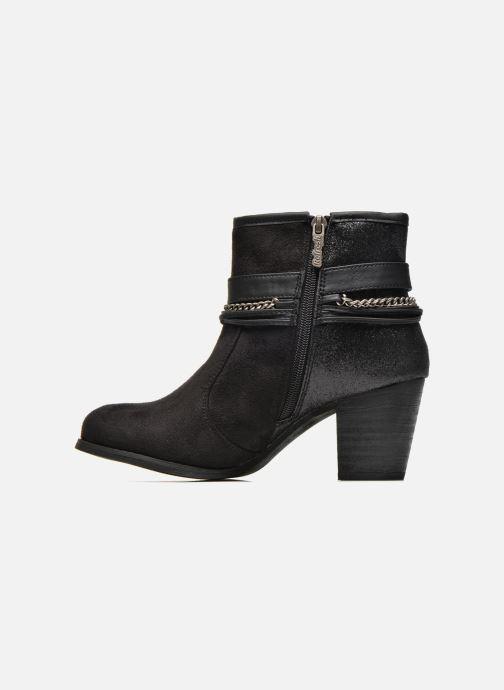 Bottines et boots Refresh Deborah-61181 Noir vue face