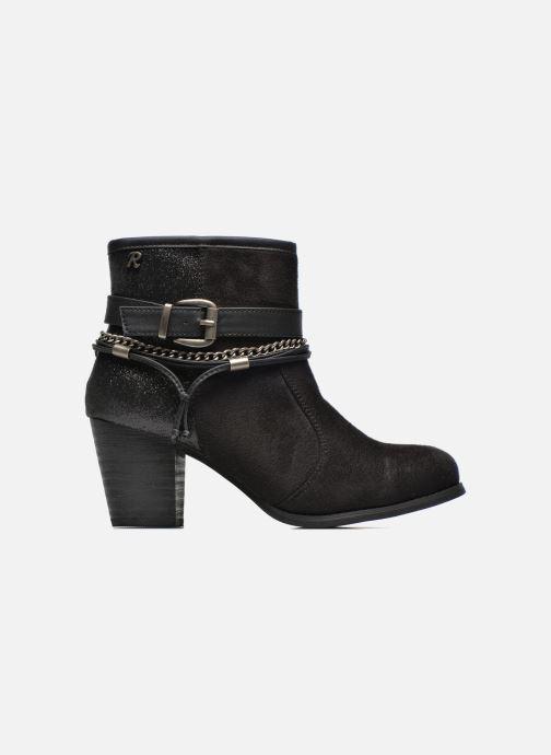 Ankle boots Refresh Deborah-61181 Black back view
