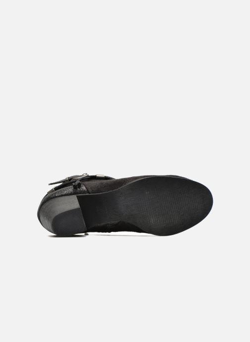 Bottines et boots Refresh Deborah-61181 Noir vue haut