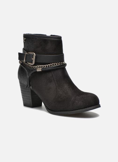 Bottines et boots Refresh Deborah-61181 Noir vue détail/paire