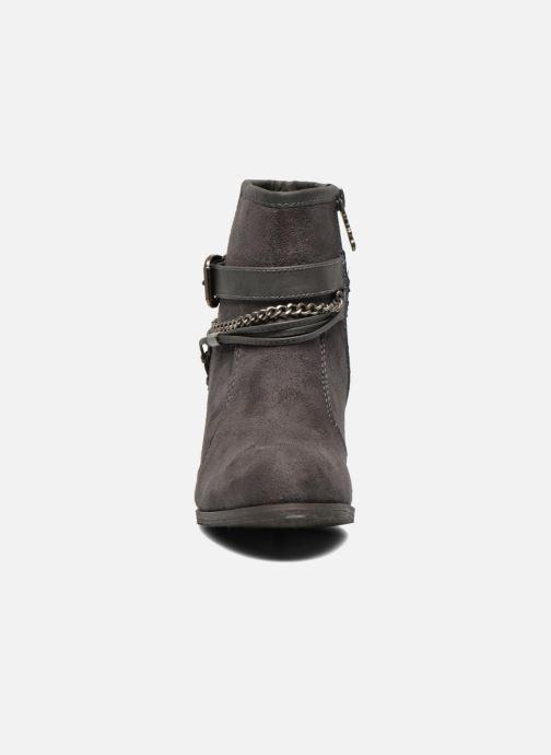 Bottines et boots Refresh Deborah-61181 Gris vue portées chaussures