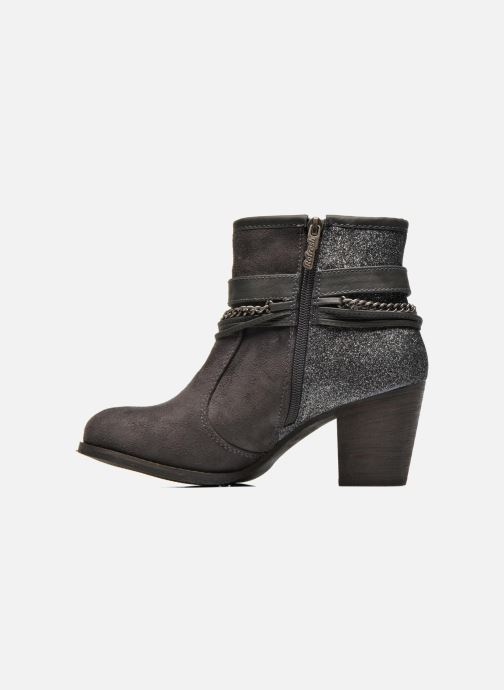 Bottines et boots Refresh Deborah-61181 Gris vue face