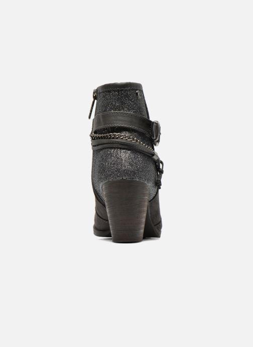 Bottines et boots Refresh Deborah-61181 Gris vue droite