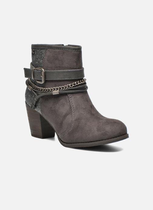 Boots en enkellaarsjes Refresh Deborah-61181 Grijs detail