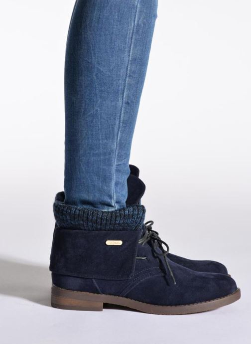 Stiefeletten & Boots Refresh Bijou-61677 schwarz ansicht von unten / tasche getragen