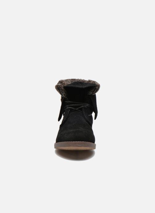 Bottines et boots Refresh Bijou-61677 Noir vue portées chaussures