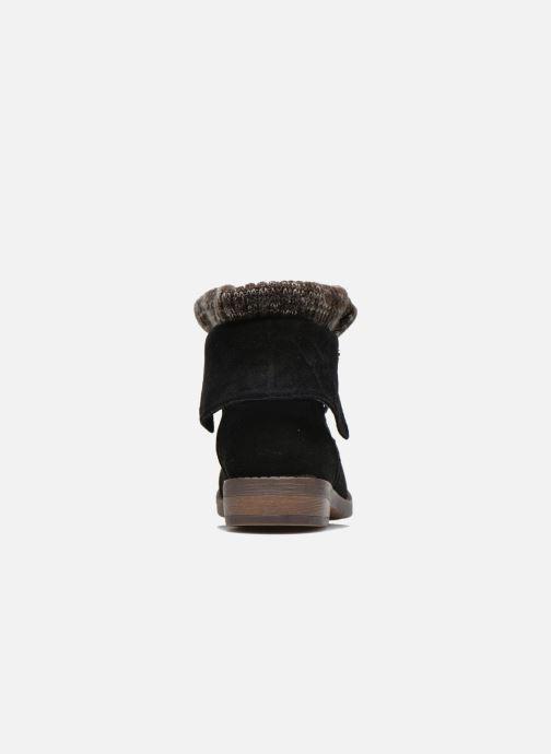 Bottines et boots Refresh Bijou-61677 Noir vue droite