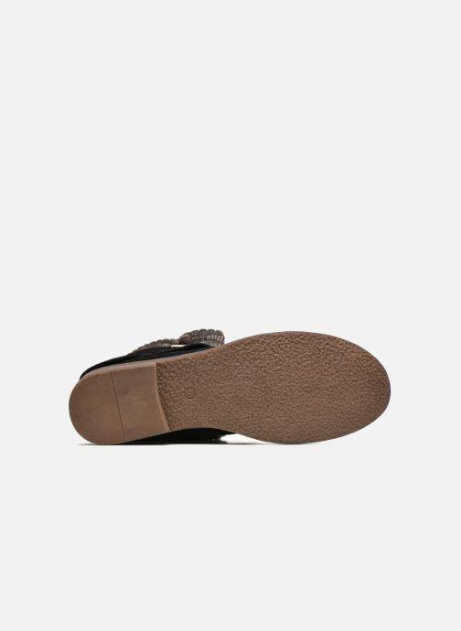Stiefeletten & Boots Refresh Bijou-61677 schwarz ansicht von oben