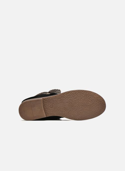 Bottines et boots Refresh Bijou-61677 Noir vue haut