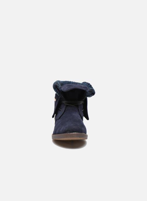 Bottines et boots Refresh Bijou-61677 Bleu vue portées chaussures