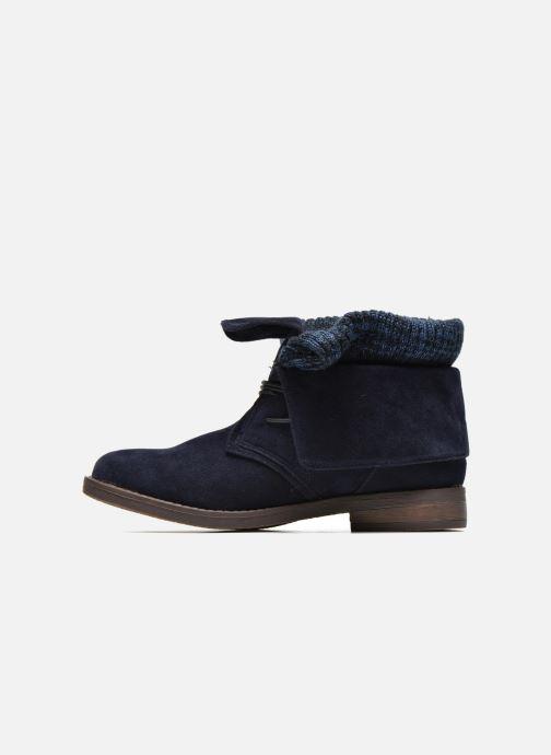 Bottines et boots Refresh Bijou-61677 Bleu vue face