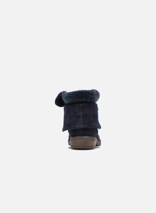 Stivaletti e tronchetti Refresh Bijou-61677 Azzurro immagine destra