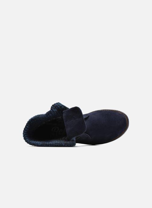Bottines et boots Refresh Bijou-61677 Bleu vue gauche